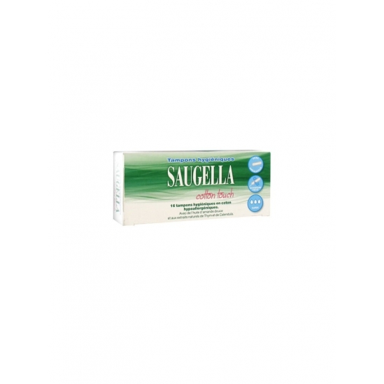 Saugella Cotton Touch Super 16 Tampons