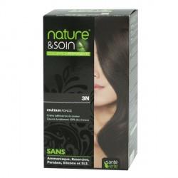 Santé verte nature & soin coloration 3N châtain foncé 130ml