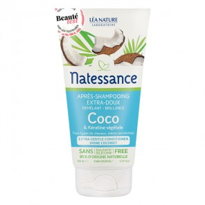Natessance après-shampooing extra-doux coco 150ml