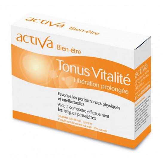 Activa bien-être tonus vitalité 30 gélules