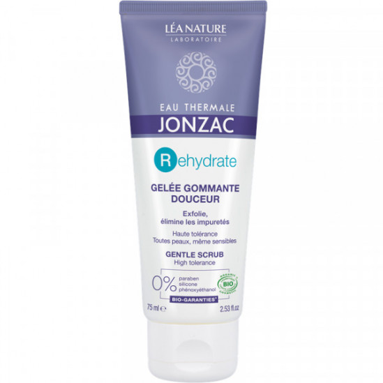 Jonzac gelée gommante douceur 75ml