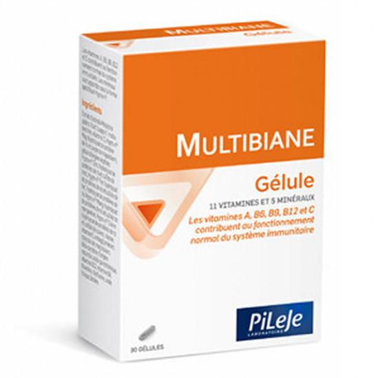 Pileje multibiane multivitamines 30 gélules