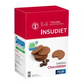Insudiet galettes chocolatées 288g