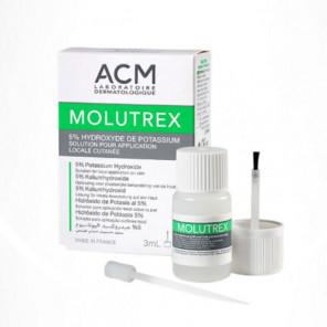 Acm molutrex solution application cutané flacon 3ml
