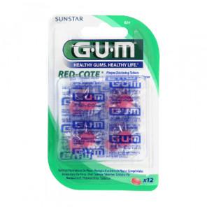 Gum red cote révélateur de plaques
