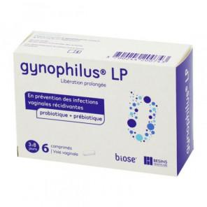 Gynophilus LP Flore vaginale Boîte de 6 comprimés